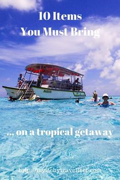 Traveling on a tropical getaway? These 10 items are essential for a comfortable trip. Check out the really cool items we pack for a tropical trip.