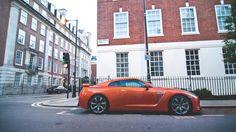 orange nissan gtr car wallpaper free full hd download