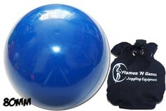 Practice Contact Juggling Ball 80mm (Blue)