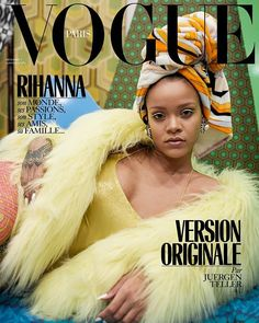 Its not 2 but 3 covers this December consider it a Christmas gift! Here shot by Juergen Teller our special guest editor pairs it right back for her third cover. Letting her natural beauty speak for itself its original Rihanna. Three covers one star. Shot by Juergen Teller styled by Anastasia Barbieri hair by Yusef Williams makeup by Yadim nails by Maria Salandra. #RihannaxVogueParis #JuergenTeller @badgalriri #AnastasiaBarbieri @yusefhairnyc @redhotnails #yadim via VOGUE PARIS MAGAZINE…