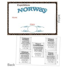 VBS-Expedition Norway-Name Badges (Pkg-10)