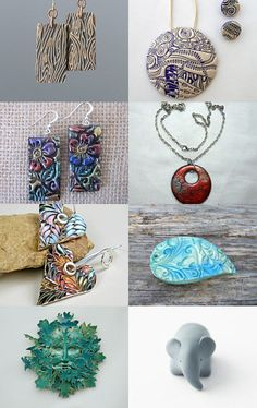 Beautiful clay designs  by Tracey howard on Etsy--Pinned with TreasuryPin.com