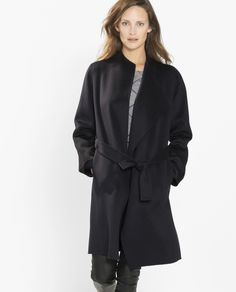 PAUW - Kneelength Double Faced Cashmere Coat