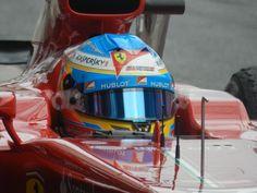 Fernando Alonso in Barcelona 19/02/2013