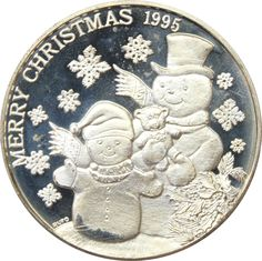 Great Deals On 1995 Merry Christmas Snowmen 1 oz Silver Art Round 999 Pure At Gainesville Coins. Securely Buy Gold And Silver Online. Christmas Snowman, Merry Christmas, Buy Gold And Silver, Silver Rounds, 1 Oz, Snowmen, Holiday Gifts, Pure Products, Art