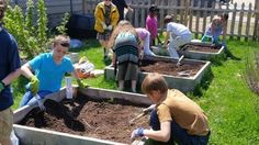 Spotlight on Tamarack Waldorf School, a winner of the 2014 Youth Garden Grant, who built an outdoor classroom at a neighborhood park!