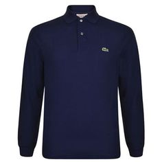 Long Sleeve Classic Polo Description: This timeless Lacoste polo top boasts a classic loose fit design and longsleeves. This polo top is complete with a two button mother of pearl placket, ribbed trims and the brand logo embroidered to the chest. Size selection: Standard sizing (Brand's own sizing)Fits true to... http://qualityclothing.me.uk/long-sleeve-classic-polo-14/