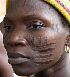 Yoruba woman, Nigeria