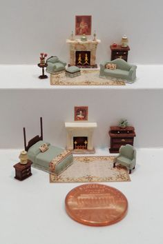 Nell Corkin, 1:144 miniature furnishings class at Chicago Intl 2013