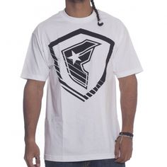 Famous Stars and Straps T-shirt: Fury Boh WH | Buy Online | Fillow Skate Shop