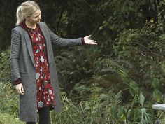 Emma Swan's Kylie Long Shawl Collar Jacket on Once Upon A Time