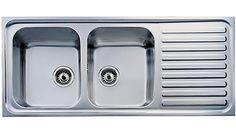 Teka Classic Double Bowl Kitchen Sink Double Bowl Kitchen Sink, Kitchen Appliances, Kitchen Sinks, Plumbing, Mixers, Classic, Home Decor, Image, Diy Kitchen Appliances