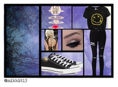 """"""":Mikey:"""" by chewygames138 on Polyvore featuring Miss Selfridge, Converse and Monsoon"""