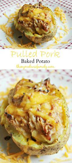 Pulled Pork Baked Potato