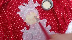 Video 2.como pintar em cor escura ou estampado