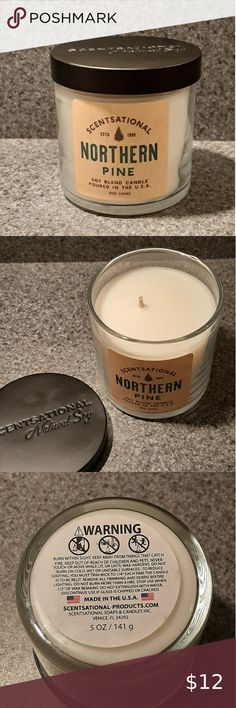 Scentsational Give Thanks  Natural Soy Scented Candle 26 oz.