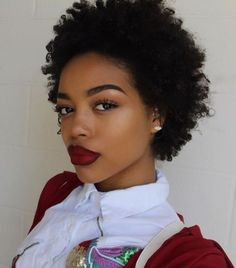 Short natural African American hairstyles can make you look trendy short haircut styles for natural black hair - Black Haircut Styles African Natural Hairstyles, African American Hairstyles, Afro Hairstyles, Short Afro, Short Pixie, Short Hair Images, Short Hairstyles For Women, Ladies Hairstyles, Laura Lee