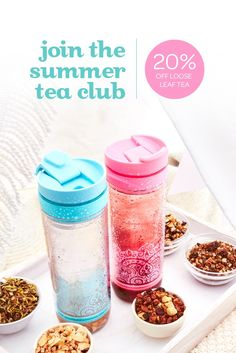 Buy any Iced Tea Press and get 20% off 100 g or more of any one loose leaf tea this summer!