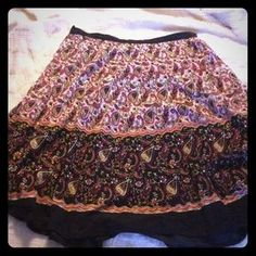 I just added this to my closet on Poshmark: Wonderfully patterned skirt. Price: $8 Size: XL