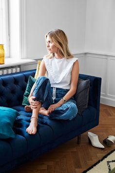6 interior design shots of It-girl Pernille Teisback's New Home: