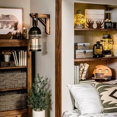 Live your best lodge life with stylish accent pieces, wall decor and more! Home Sweet Hell, Inside Celebrity Homes, Half Walls, Western Homes, Wood Wall Decor, Western Decor, Accent Pieces, Home Goods