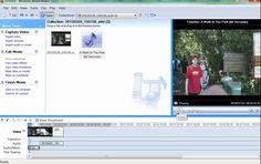 איך לערוך סרטון עם WINDOWS MOVIE MAKER גרסה 2.6