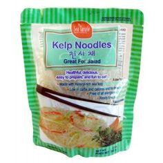 Biologisch zeewier pasta / kelp noodles - 340 Gram