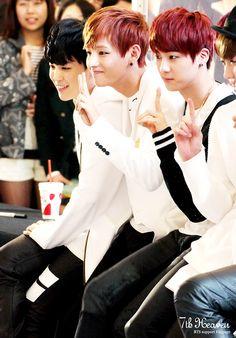 Jimin , V , Jin , J-Hope BTS