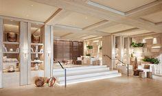 One Hotels Residential Lobby. Luxury Condos in Miami Lobby