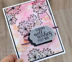 Watercolour Dandelion Wishes (2)