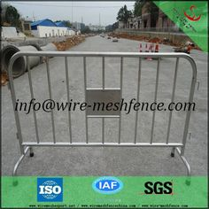 Hot dipped Galvanized Crowd Control Barrier used in road traffic(ISO9001)