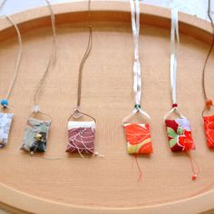 Nani IRO ONLINE STORE - pendant of embroidery decoration defense