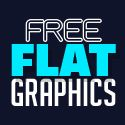 35 Free Flat Graphics and Web Elements for Designers