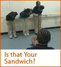 """""""Is that your Sandwich"""" activity -- Students learn how emphasizing a different word changes the meaning."""