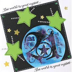 Clear Magic stamp from the Francoise Collection designed by Francoise Read FRS019
