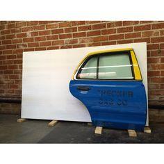 james georgopoulos taxi door video sculpture in progress 2015
