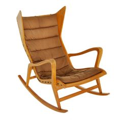 1stdibs | Gio Ponti Rocking Chair