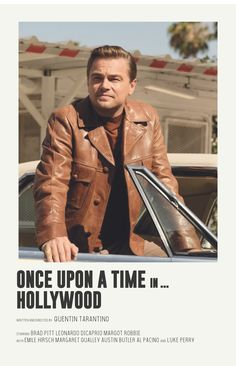 Once Upon A Time in Hollywood alternative poster - Based on the series of Andrew Sebastian Kwan - Iconic Movie Posters, Minimal Movie Posters, Minimal Poster, Cinema Posters, Movie Poster Art, Iconic Movies, Poster Wall, Poster Series, Music Posters