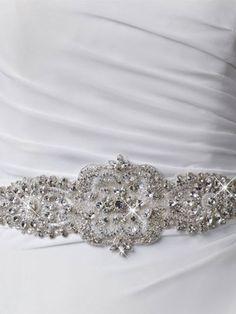 glitter bruidsriem bridalbelt