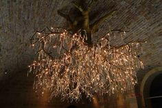 Beautiful tree chandelier!!