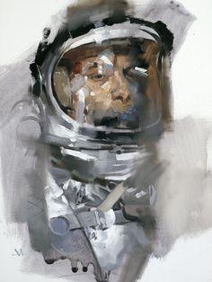 Creative Illustration, Illustrations, Gregory, Manchess, and Astronaut image ideas & inspiration on Designspiration