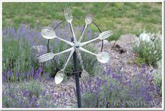 use to make wind chimes and bend forks to make tiny chairs for your pot for an accent.
