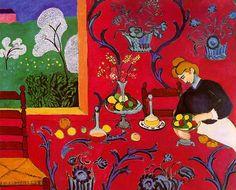 Matisse. 'Armonía en rojo'
