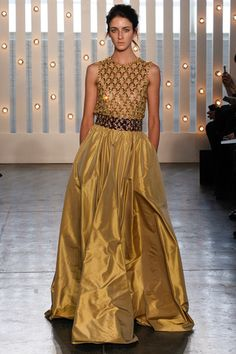 Jenny Packham Fall 2014 Ready-to-Wear Collection Slideshow on Style.com... A modern Belle.