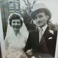 Grandma & Grandpa   September 4th 1955 #legacy