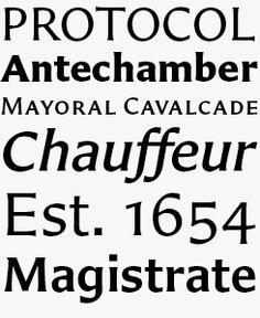Carter Sans font sample