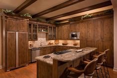 23 Brown Kitchen Designs - Page 4 of 5