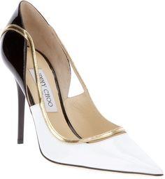 Jimmy Choo Bicolour Pump -   Shoes www.finditforweddings.com