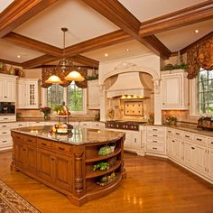 Kitchen, Bath and Whole House Custom Cabinetry - modern - kitchen cabinets - Ayr Cabinet Company Traditional Kitchen Cabinets, Country Kitchen Cabinets, Custom Kitchen Cabinets, Custom Cabinetry, New Kitchen, Kitchen Decor, Kitchen Ideas, Kitchen Designs, Beautiful Houses Interior