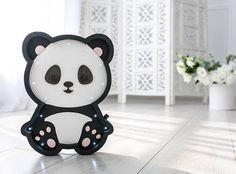 Panda bear lamp  Tropical animals Panda bear wall decor Panda